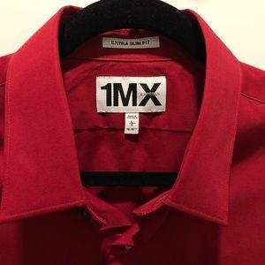 Express 1MX Dress Shirt - Extra Slim Fit